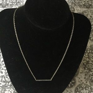 Jewelry - Premiere designs Blessed silvertone bar necklace